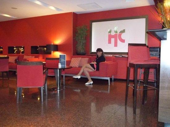 Catalonia Mikado Hotel: Sala de Espera na Recepção do Hotel Catalonia Mikado