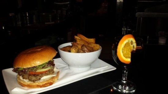 Peckham's: Burger, fries and mulled wine £7.99 deal