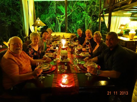 Maqueda Lodge : Evening Dinner Guests
