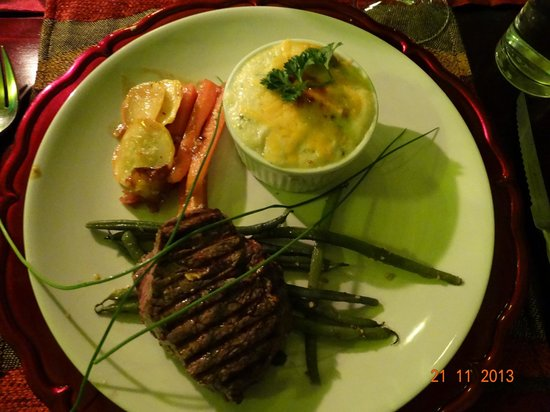 Maqueda Lodge : Excellent Fillet Steak