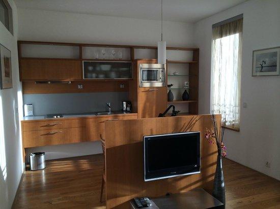 Rezidence Vysehrad: Wohnzimmer