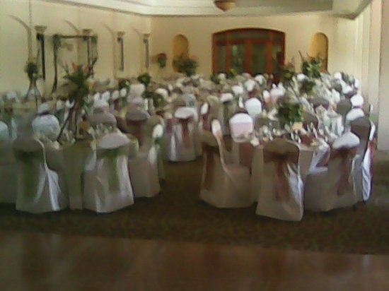 San Ignacio Resort Hotel: Bedran hall is perfect for weddings and functions