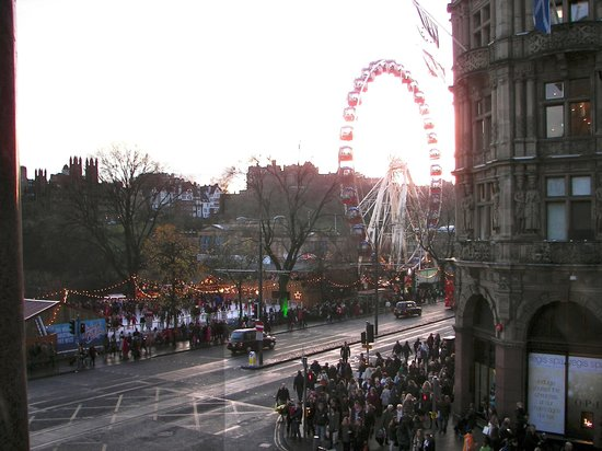 The Old Waverley Hotel: View from Room 115, Christmas Festival