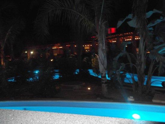 Olympic Lagoon Resort: night