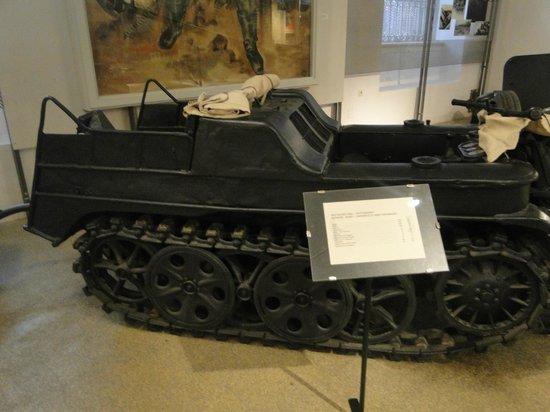 Musée d'histoire militaire de Vienne : Kettenkraftrad