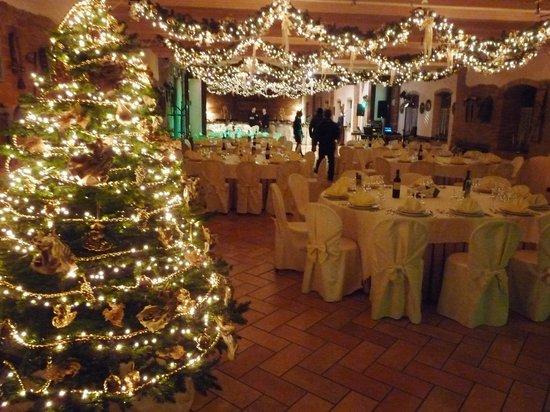 Ristorante Cascina Lorenza : L'albero di Natale