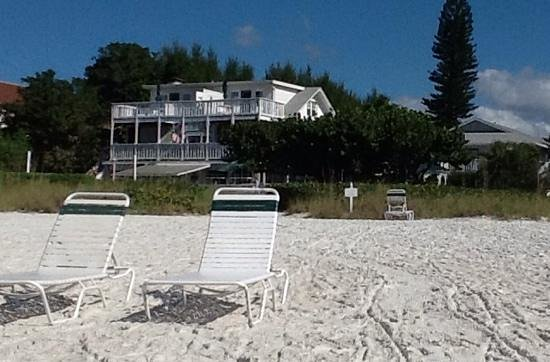 Harrington House Beachfront Bed & Breakfast: my daytime seat
