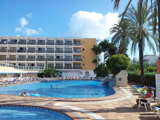 Hotel Mare Nostrum : Зона бассейнов