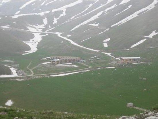 Campo Imperatore : L'abbandono della vecchia struttura di Fossa Paganica
