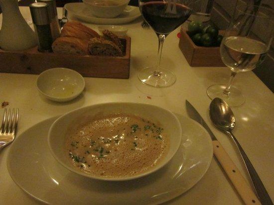 Wein am Rhein : zuppa del giorno