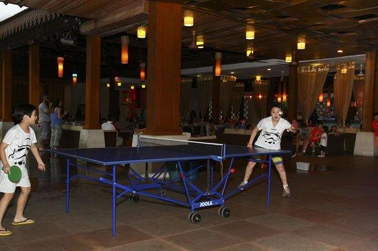 Club Med Cherating Beach: Ping Pong Time