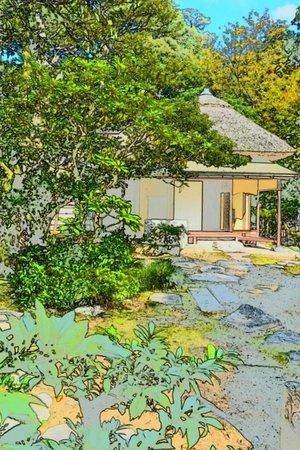 ANA Crowne Plaza Hotel Kanazawa: twaeked pic of Kenrokuen garden