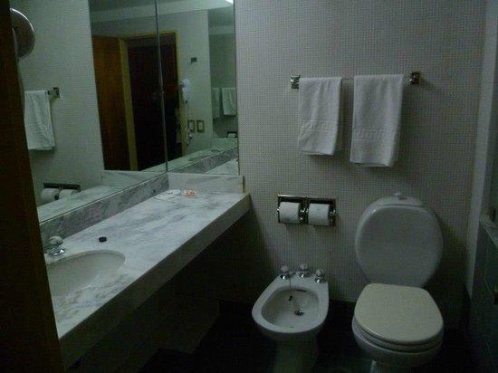 Panamericano Bariloche: El baño siempre tenia papel y toallas