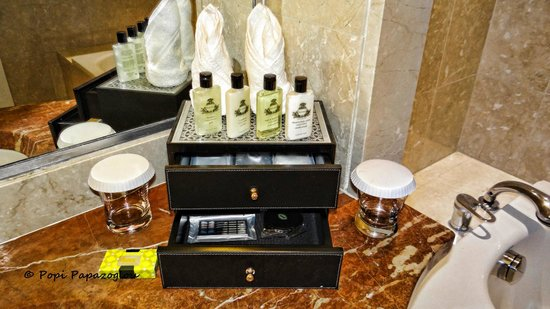 InterContinental Doha: Amazing toiletries