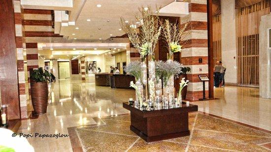 InterContinental Doha: The beautiful lobby