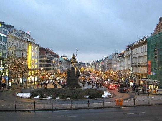 K+K Hotel Fenix : Wenceslas square