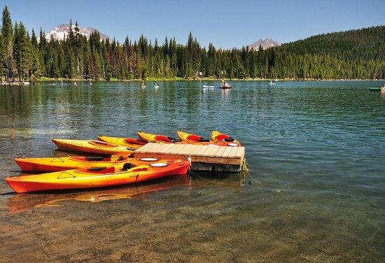 Fairfield Inn & Suites Bend Downtown: Elk Lake