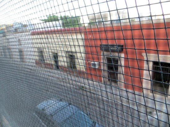 Hotel Suites Kino: View from room, facing north.