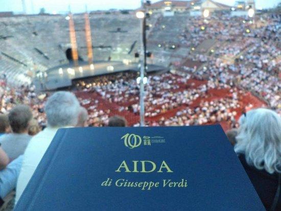 Arena di Verona: AIDA - Arena de Verona