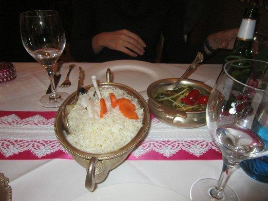 Kamasutra Indisches Restaurant: riso
