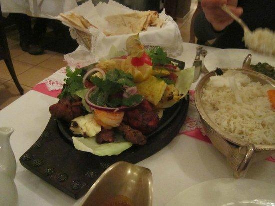 Kamasutra Indisches Restaurant: grill