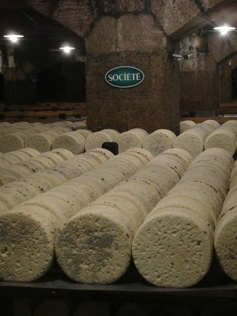 ‪Roquefort Cheese Caves‬