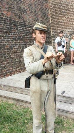 Old Fort Jackson: Fascinating descriptions, Aaron!