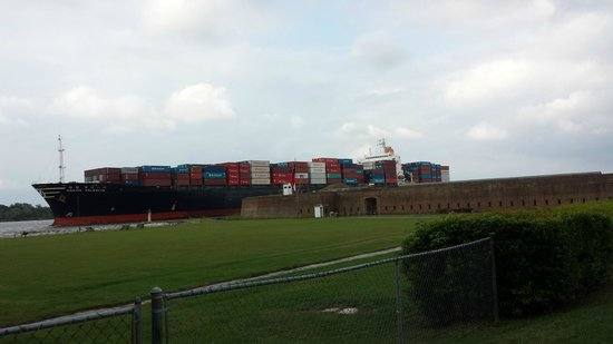 Old Fort Jackson : Up close and personal