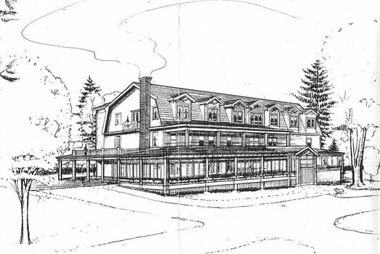 Friends Lake Inn: Sketch from Architect Chris Liddle