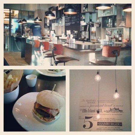 Ellis Gourmet Burger - Place St Catherine : le Ellis Burger