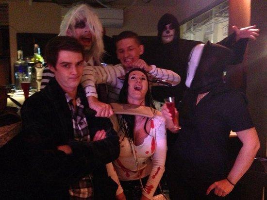 Cortes Cafe Marbella: Halloween in Cortes