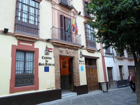 Casona de San Andres Hotel: Esterno dell'hotel