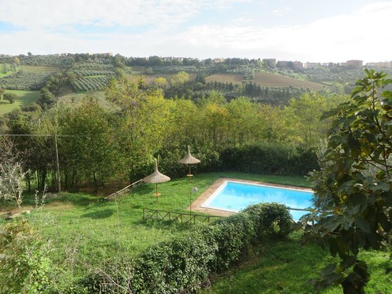 Let's cook in Umbria: The view from the apartments!