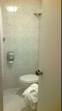 Hotel Gamma: toilette