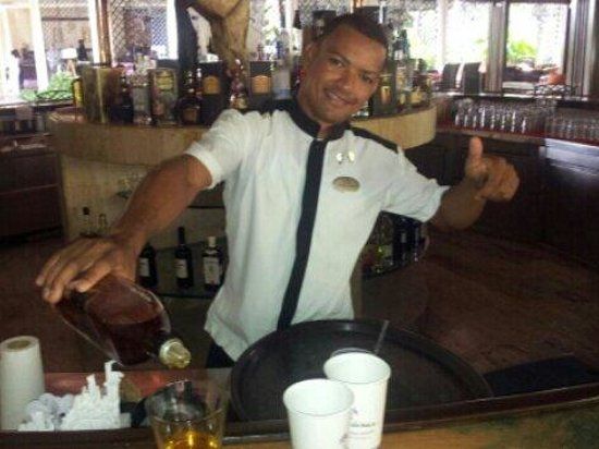 Paradisus Punta Cana: Mein Freund Roberto espinal.