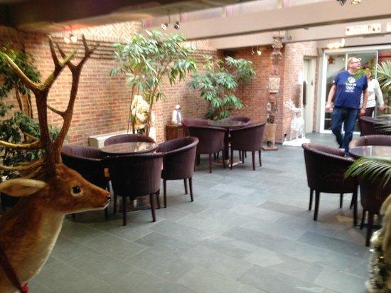 Academie Hotel : Lounge area