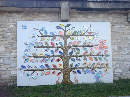 Swanage Bay View: Public Art on display on Shore Road