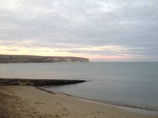 Swanage Bay View: Sunset