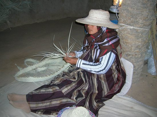 Djerba Explore : confection de paniers