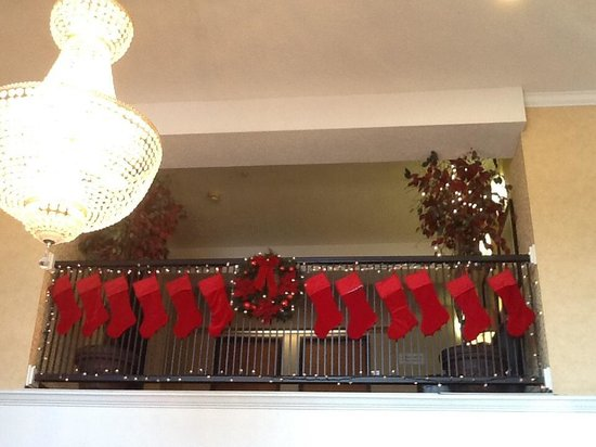 Comfort Suites Las Colinas Center: ho,ho,ho