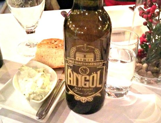 The Grona Stugan serves excellent local beer