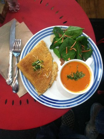 Creperie & Cafe: soup special