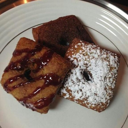 Creperie & Cafe: Gluten free donuts