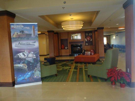 Fairfield Inn & Suites Titusville Kennedy Space Center : Entrance