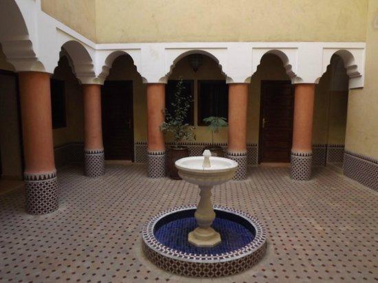 Hotel Cecil Marrakech: Entrada del Riad