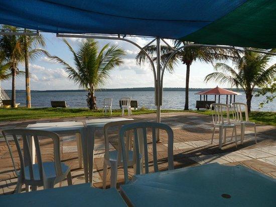 Tres Lagoas, MS: Fim de tarde no restaurante