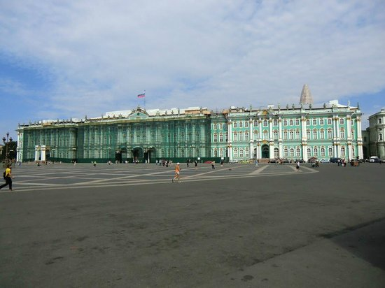 State Hermitage Museum and Winter Palace: vue extérieure