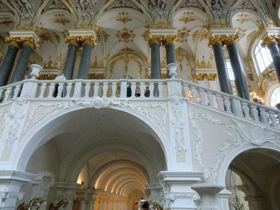 State Hermitage Museum and Winter Palace: vue intérieure