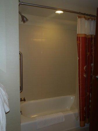 Courtyard Miami Airport: Bathtub/Shower Area