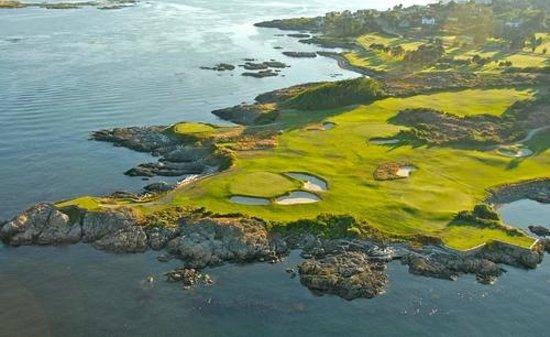 Victoria Golf Club : Aerial